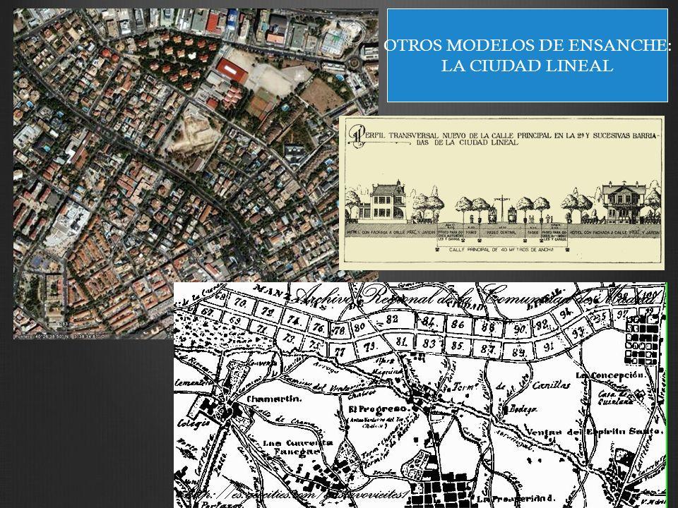 OTROS MODELOS DE ENSANCHE: