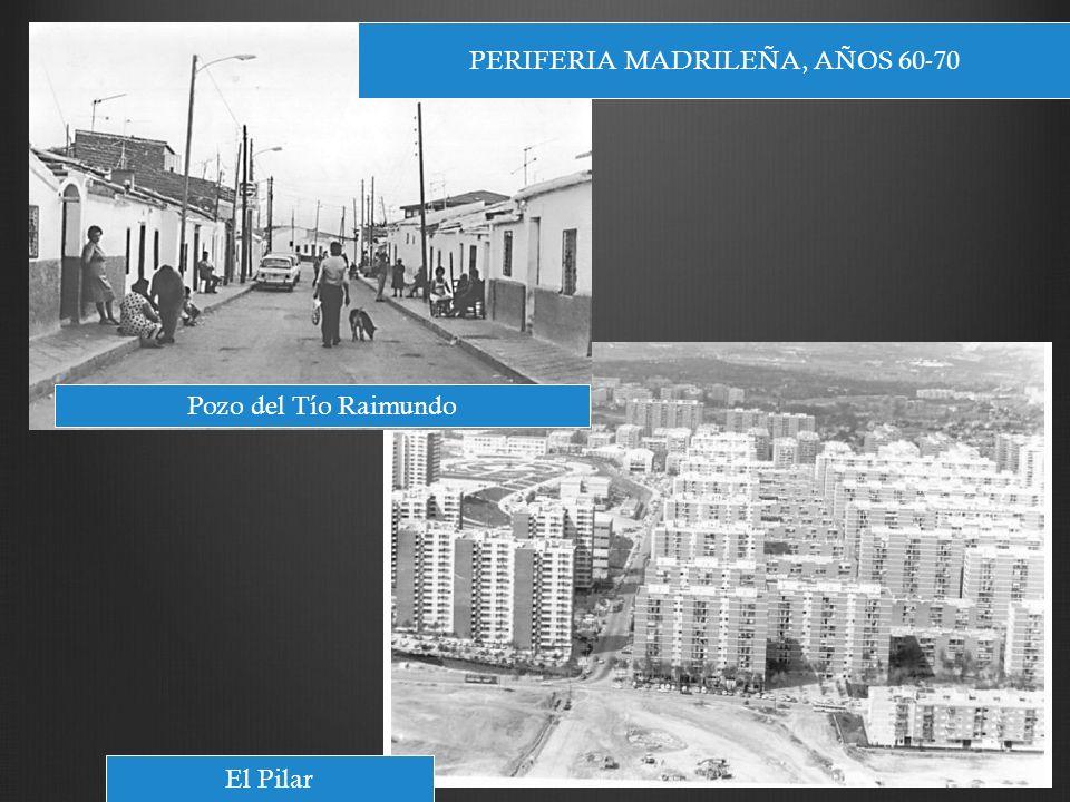 PERIFERIA MADRILEÑA, AÑOS 60-70