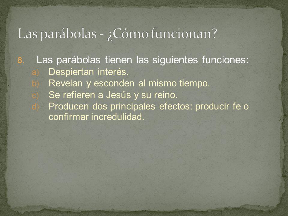 Las parábolas - ¿Cómo funcionan