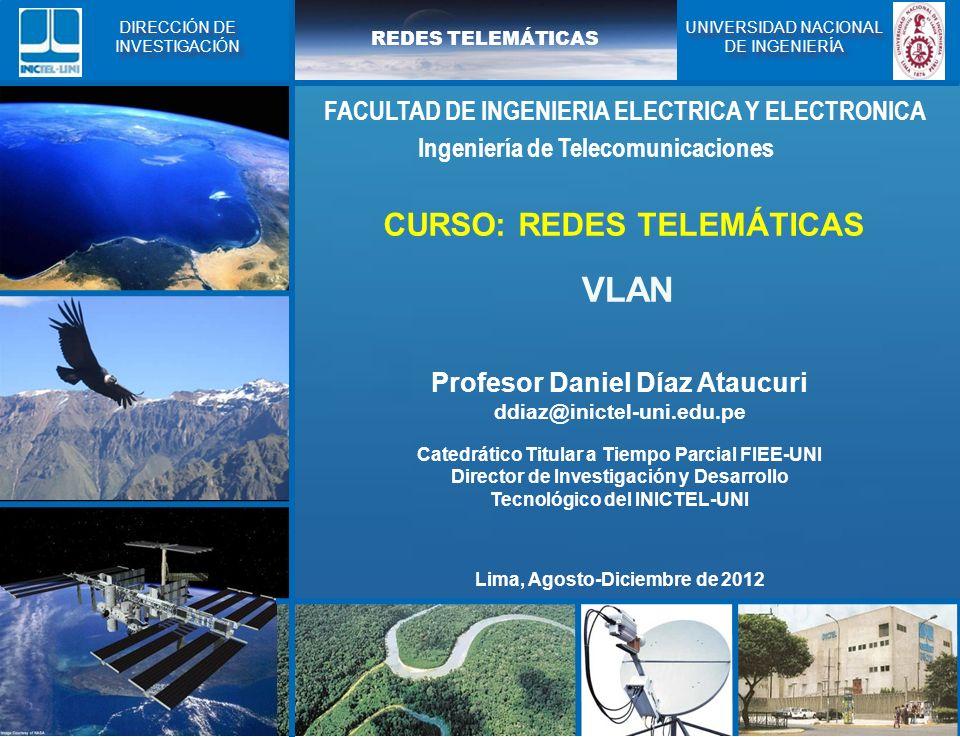 VLAN CURSO: REDES TELEMÁTICAS