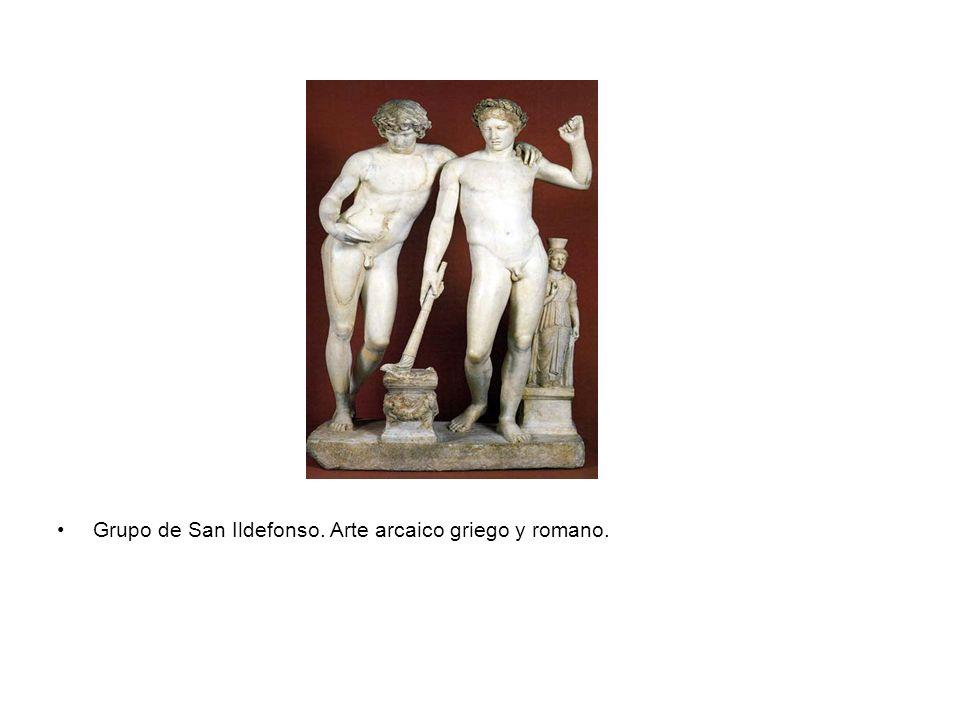 Grupo de San Ildefonso. Arte arcaico griego y romano.