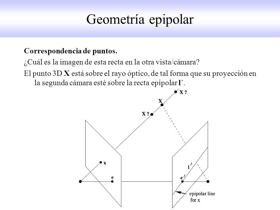Geometría epipolar