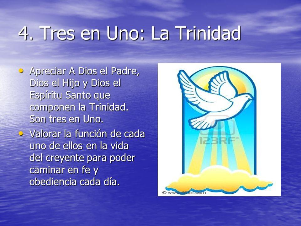 4. Tres en Uno: La Trinidad