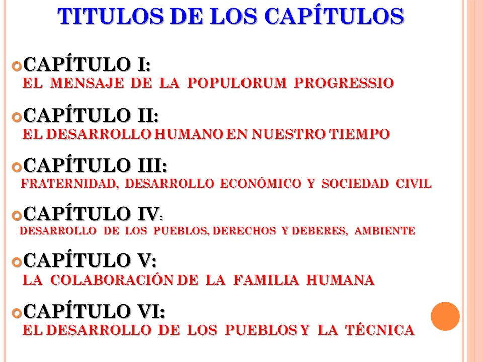 TITULOS DE LOS CAPÍTULOS