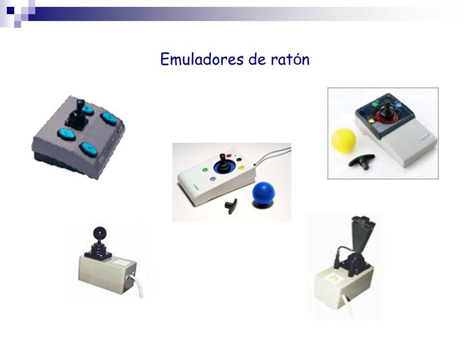 Emuladores de ratón