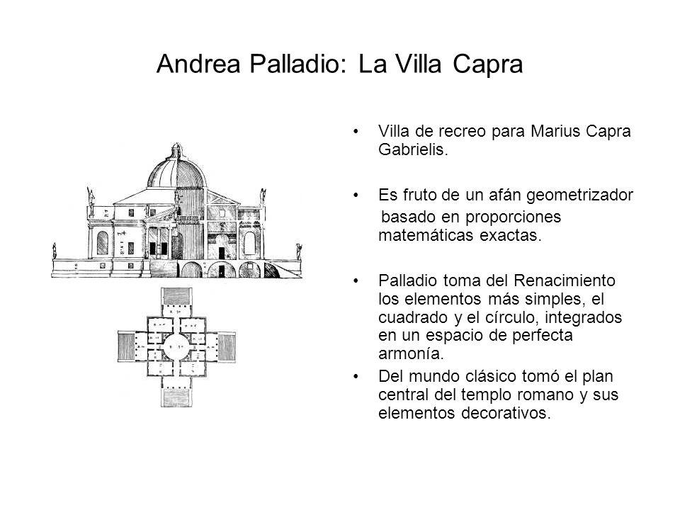 Andrea Palladio: La Villa Capra