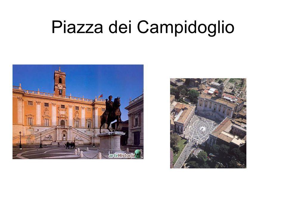 Piazza dei Campidoglio