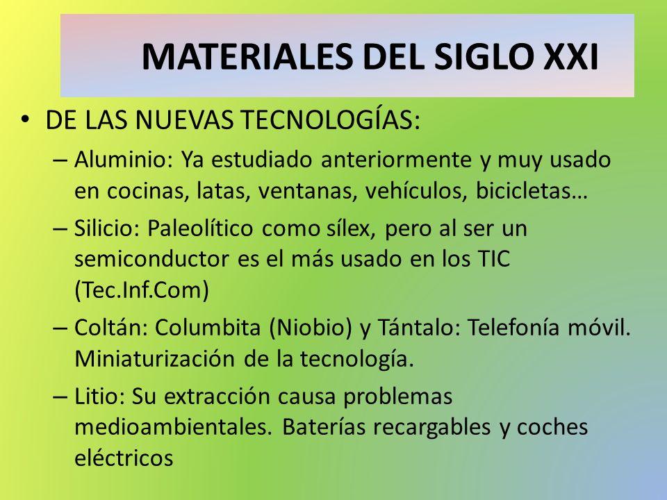 MATERIALES DEL SIGLO XXI