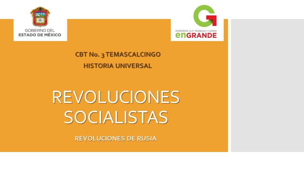 REVOLUCIONES SOCIALISTAS