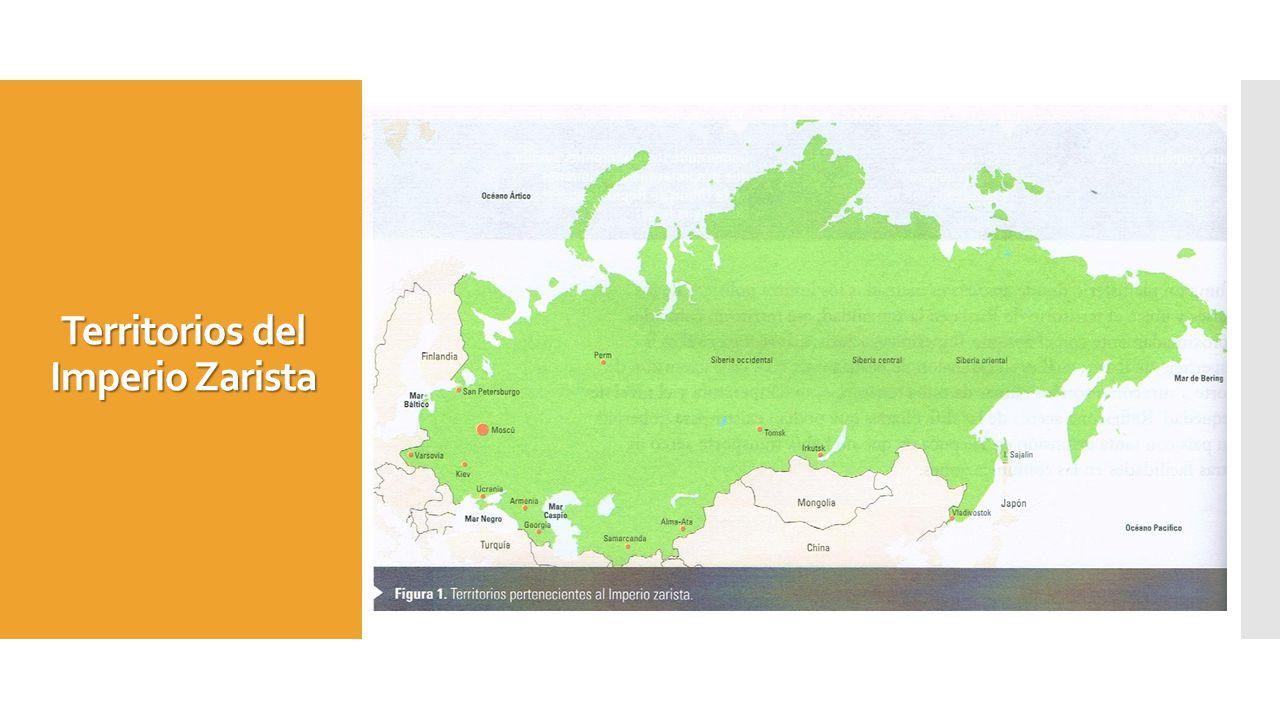 Territorios del Imperio Zarista