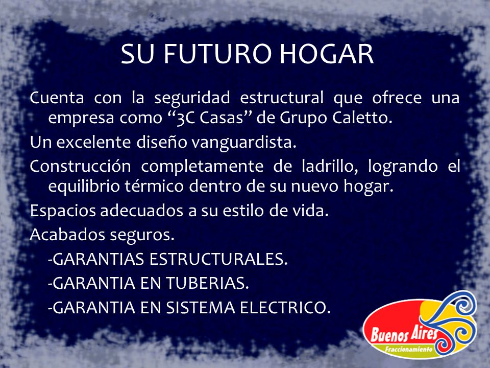 SU FUTURO HOGAR