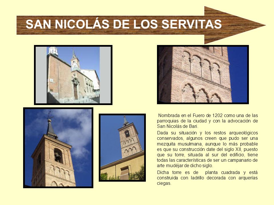 SAN NICOLÁS DE LOS SERVITAS