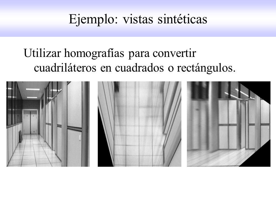 Ejemplo: vistas sintéticas