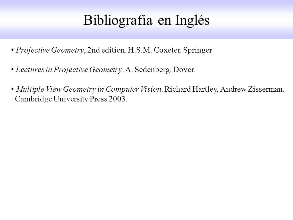 Bibliografía en Inglés