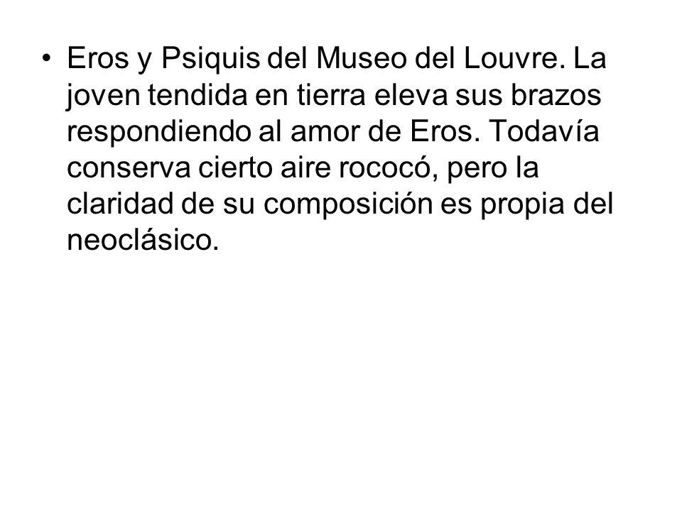 Eros y Psiquis del Museo del Louvre