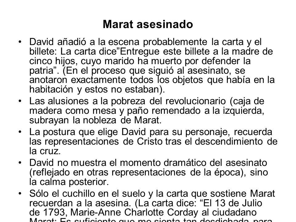 Marat asesinado