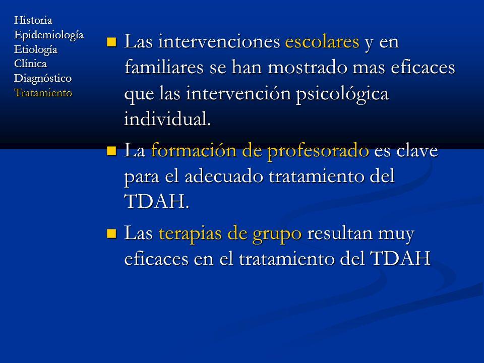 Las terapias de grupo resultan muy eficaces en el tratamiento del TDAH