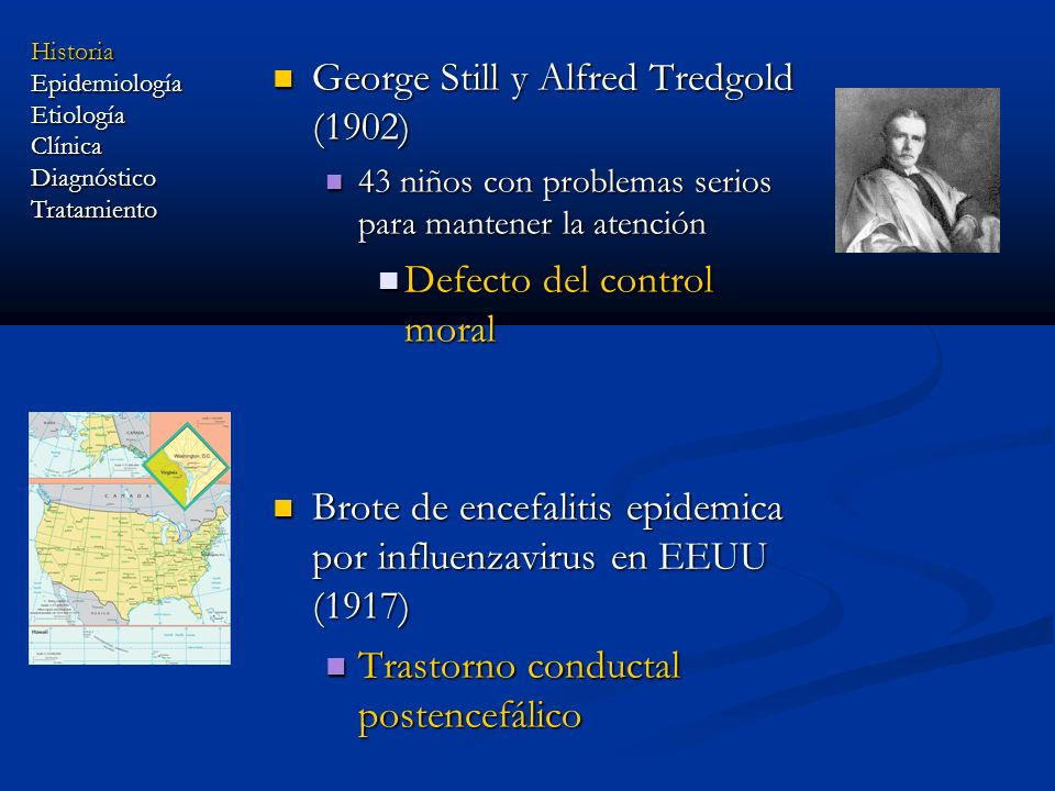 George Still y Alfred Tredgold (1902)