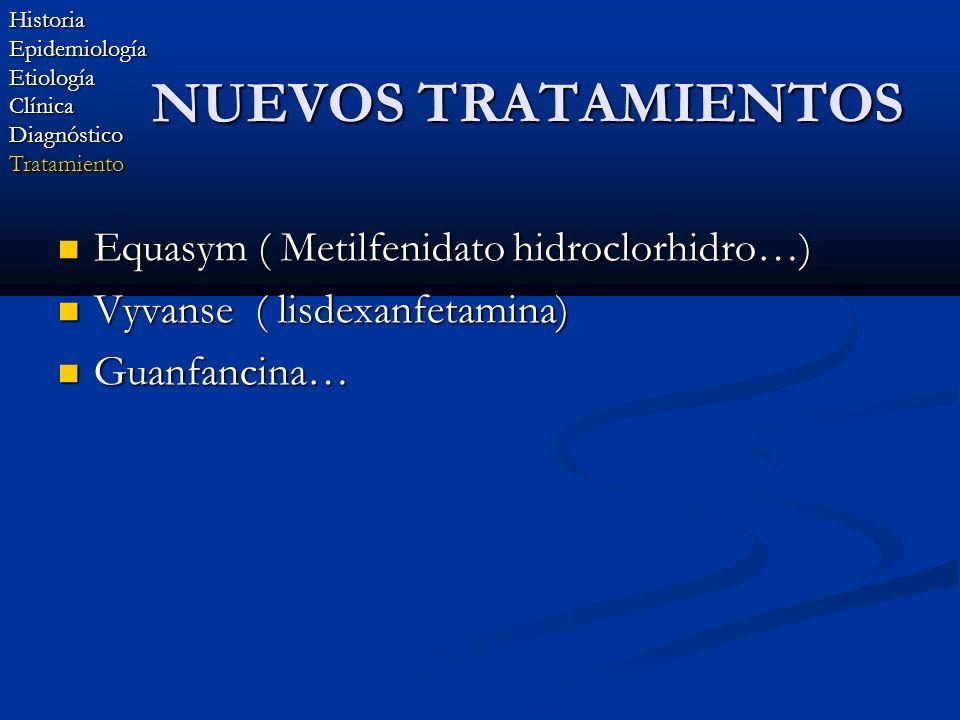 NUEVOS TRATAMIENTOS Equasym ( Metilfenidato hidroclorhidro…)