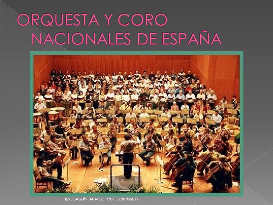 ORQUESTA Y CORO NACIONALES DE ESPAÑA