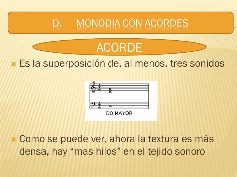 ACORDE D. MONODIA CON ACORDES