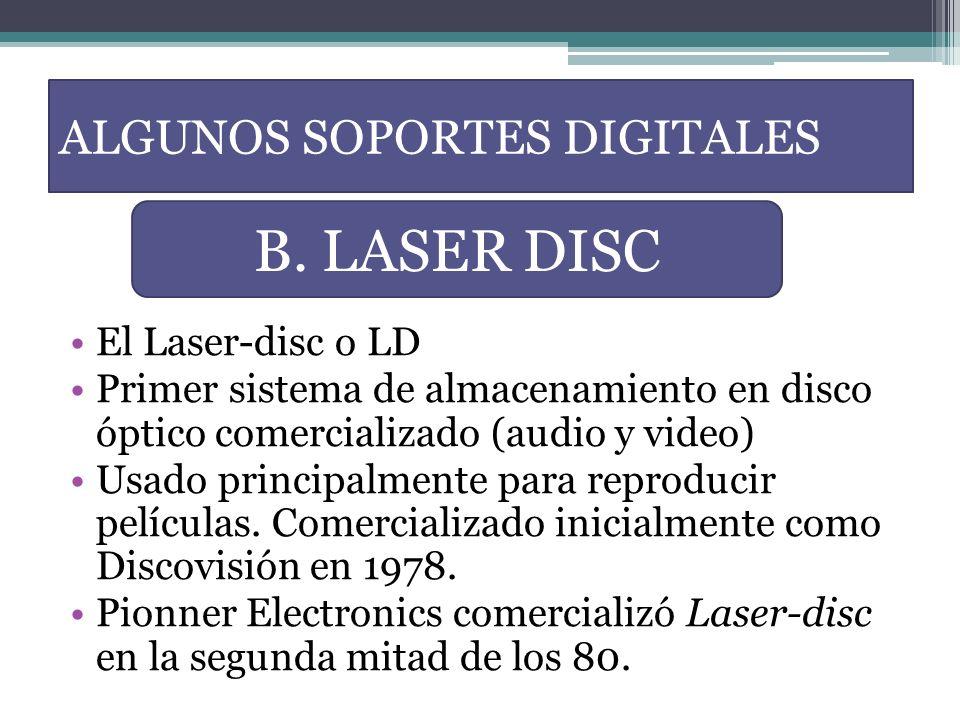 ALGUNOS SOPORTES DIGITALES