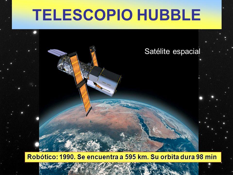 TELESCOPIO HUBBLE Satélite espacial