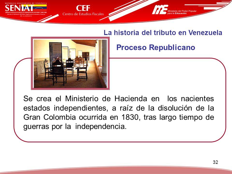 La historia del tributo en Venezuela