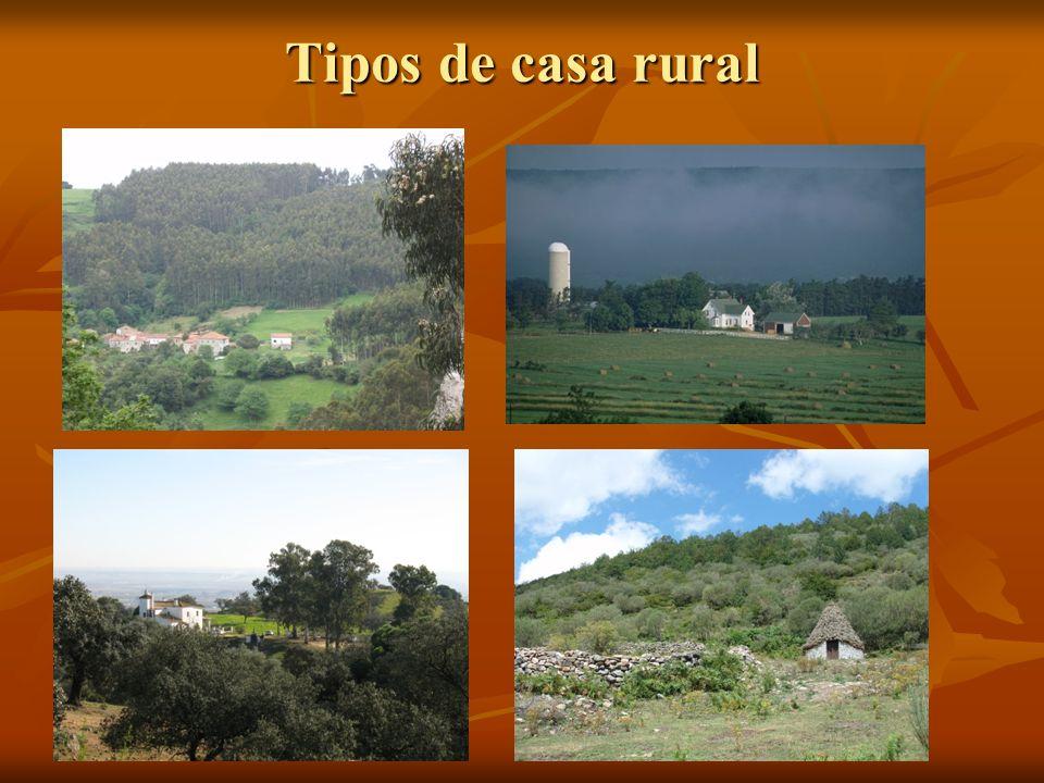 Tipos de casa rural