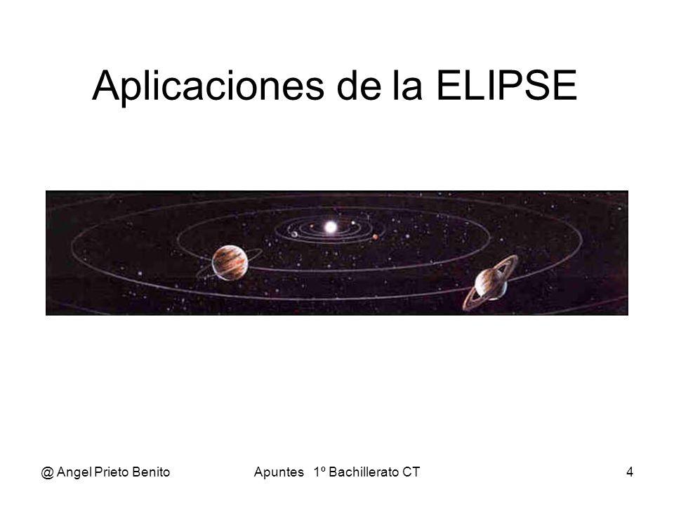 Aplicaciones de la ELIPSE