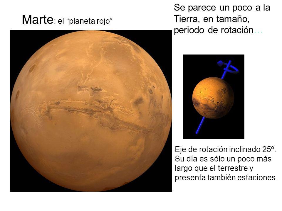 Marte: el planeta rojo