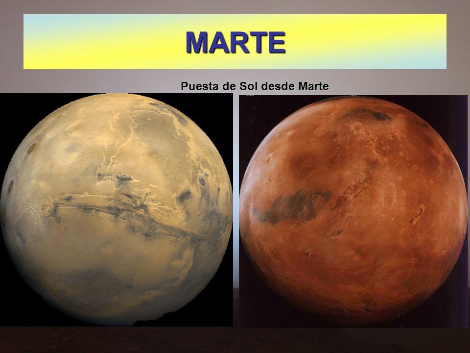 MARTE Puesta de Sol desde Marte
