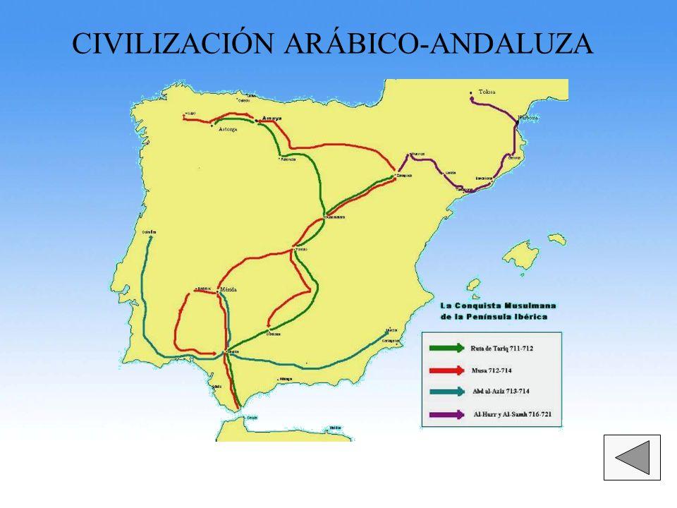 CIVILIZACIÓN ARÁBICO-ANDALUZA