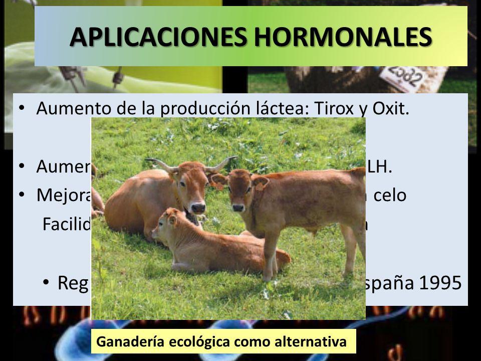APLICACIONES HORMONALES