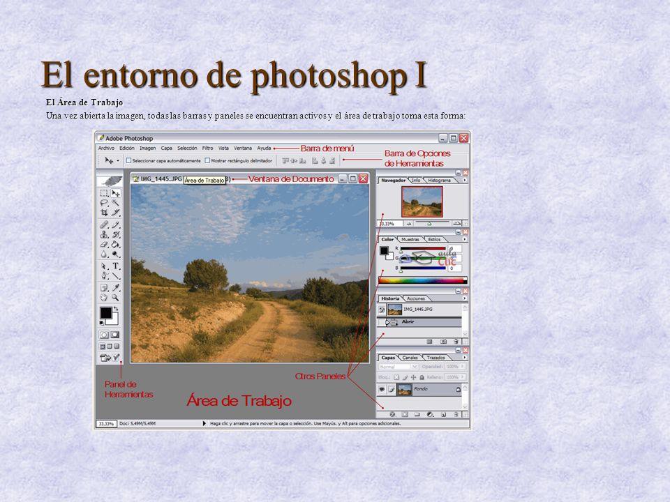 El entorno de photoshop I