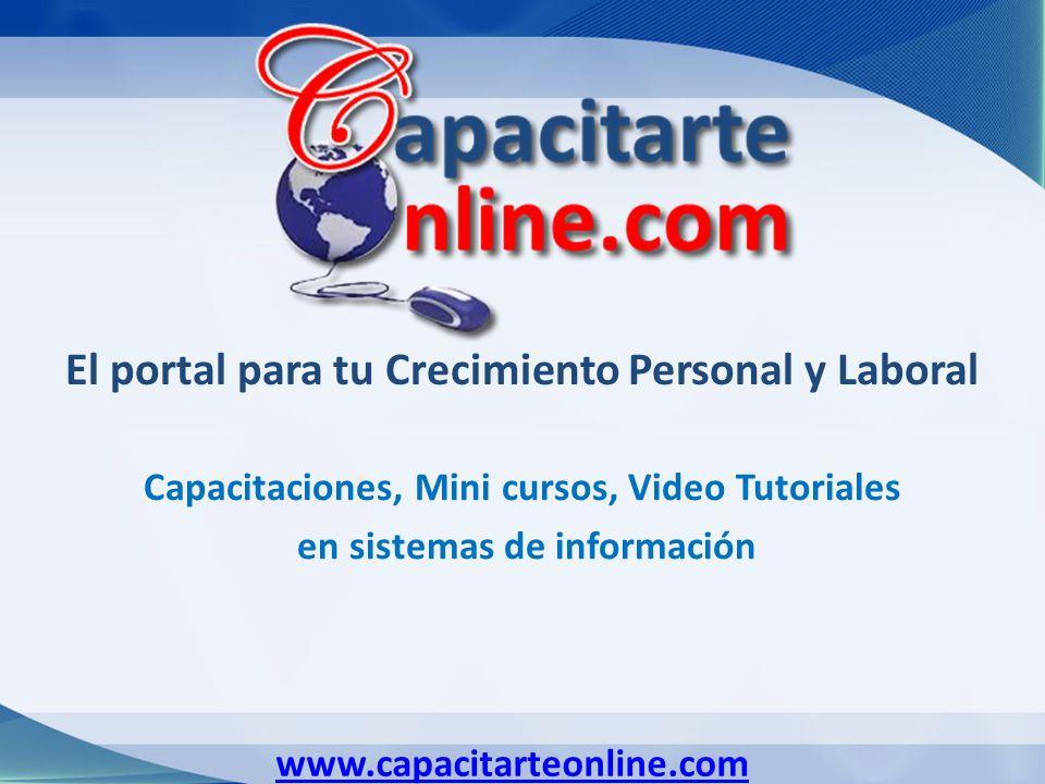 El portal para tu Crecimiento Personal y Laboral