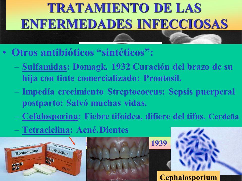 TRATAMIENTO DE LAS ENFERMEDADES INFECCIOSAS