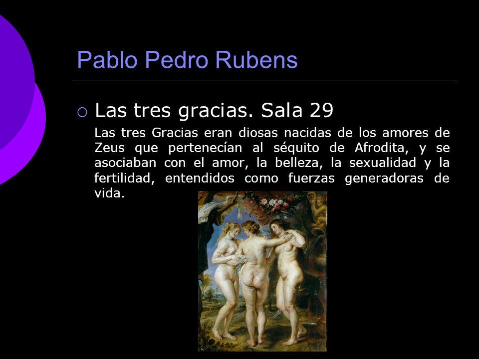 Pablo Pedro Rubens Las tres gracias. Sala 29