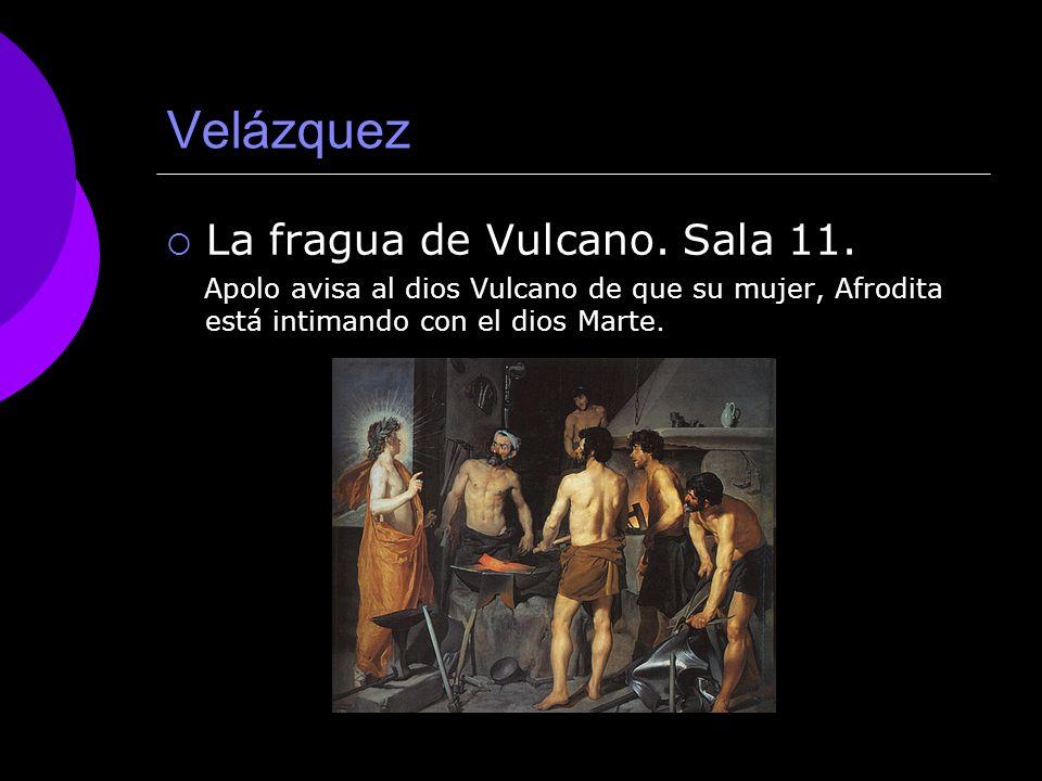Velázquez La fragua de Vulcano. Sala 11.