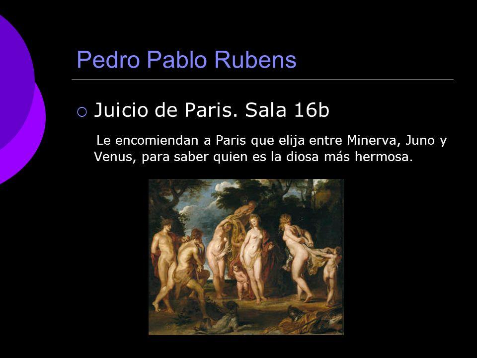 Pedro Pablo Rubens Juicio de Paris. Sala 16b