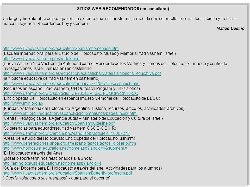 SITIOS WEB RECOMENDADOS (en castellano):