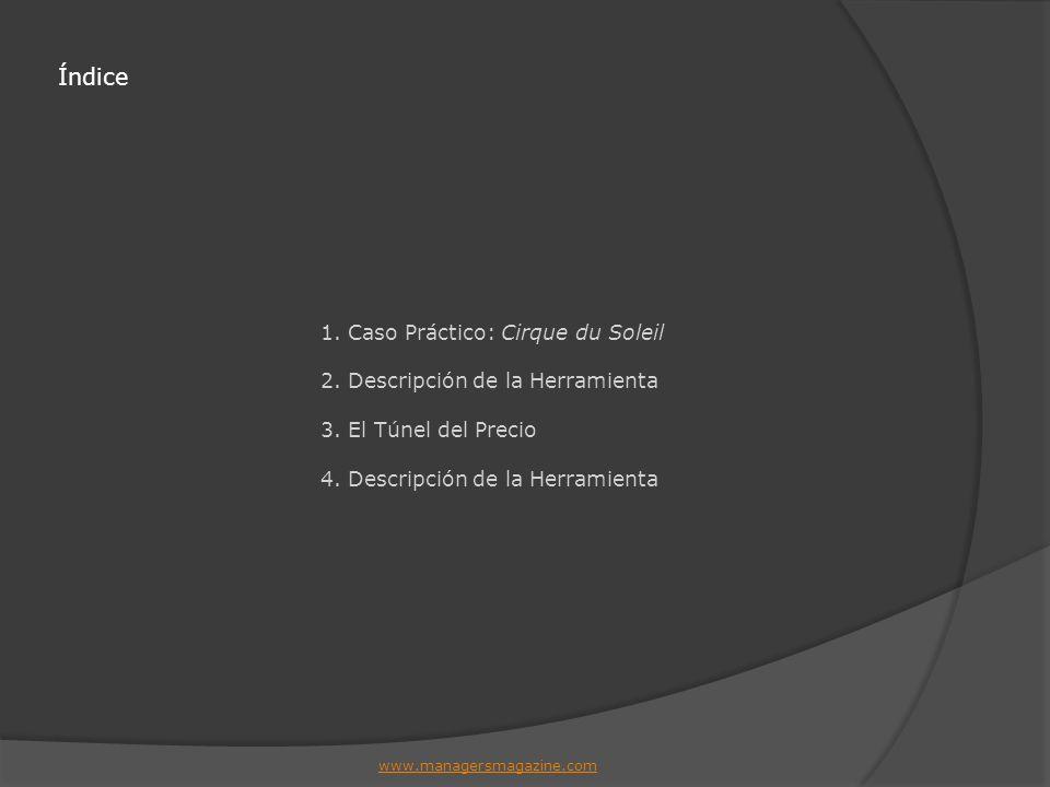 Índice 1. Caso Práctico: Cirque du Soleil