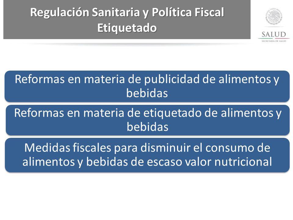 Regulación Sanitaria y Política Fiscal