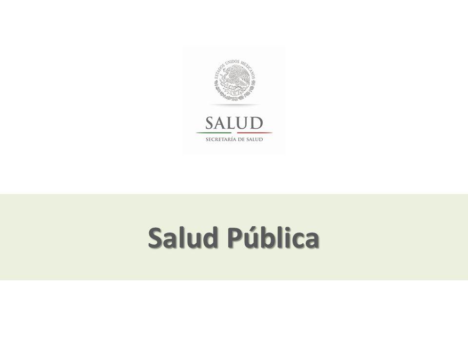 Salud Pública El pilar de Salud pública se concentrará en la realización de acciones intensivas de promoción de la salud y de prevención.