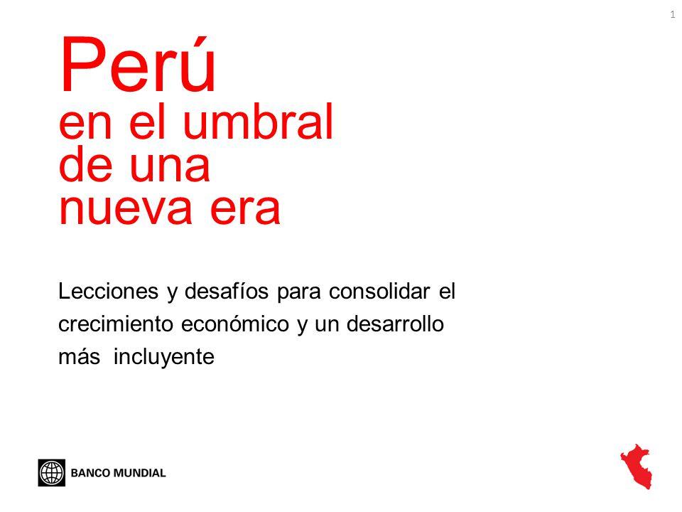 Perú en el umbral de una nueva era