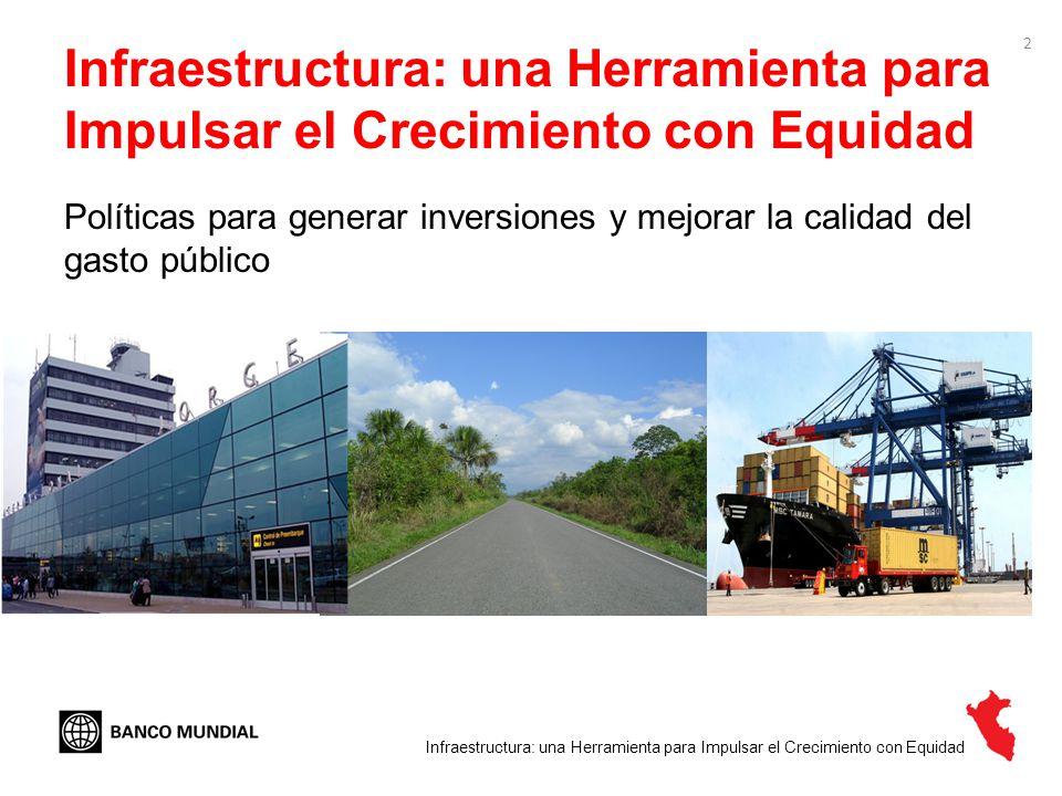 Infraestructura: una Herramienta para Impulsar el Crecimiento con Equidad