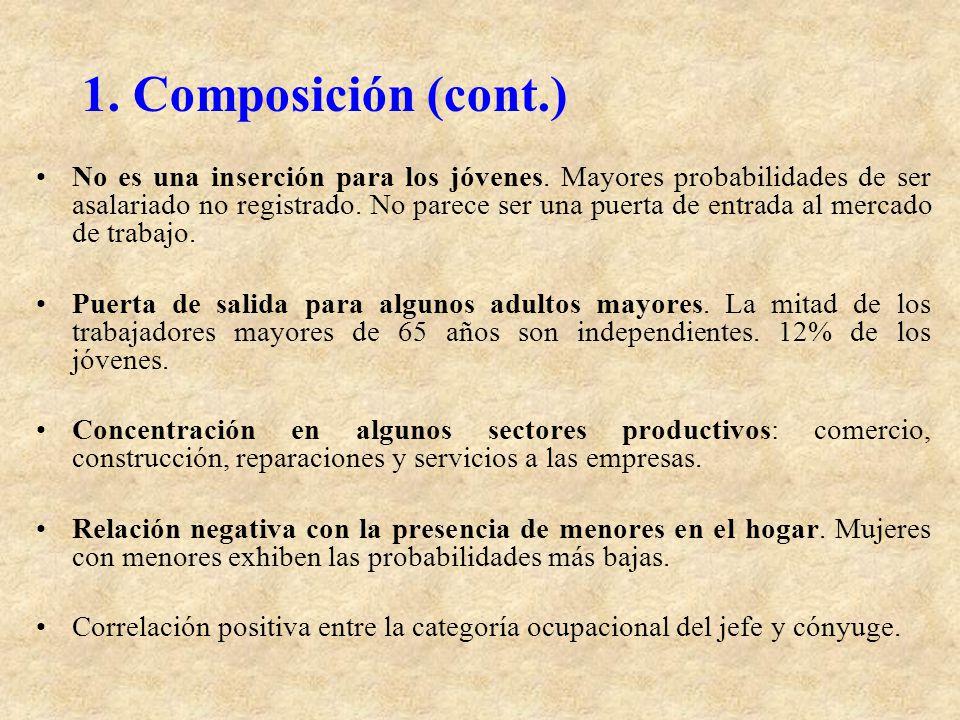 1. Composición (cont.)