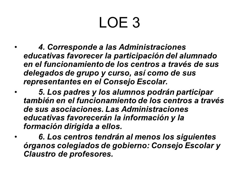 LOE 3