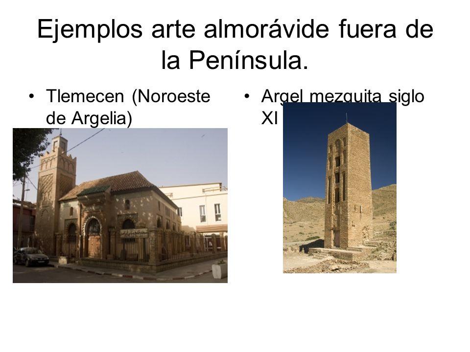 Ejemplos arte almorávide fuera de la Península.