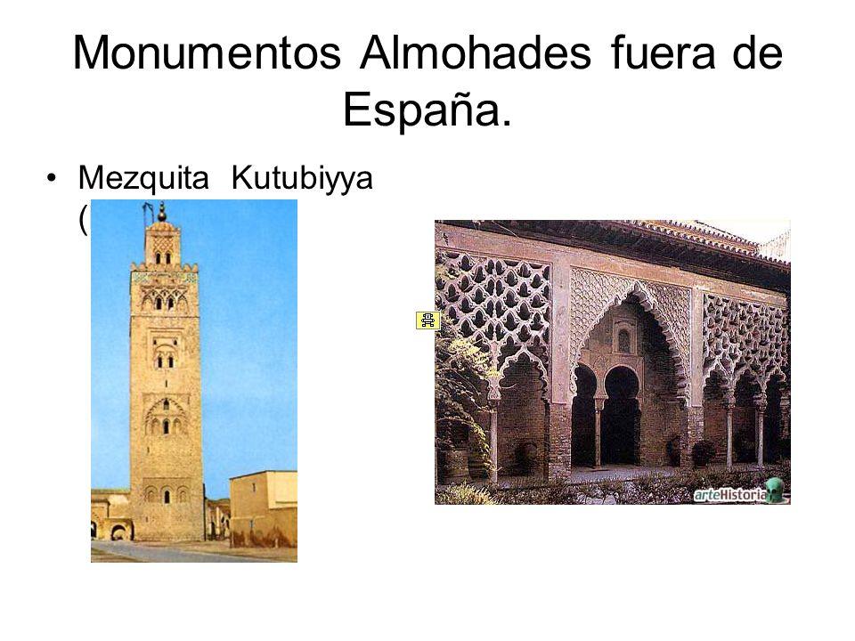 Monumentos Almohades fuera de España.